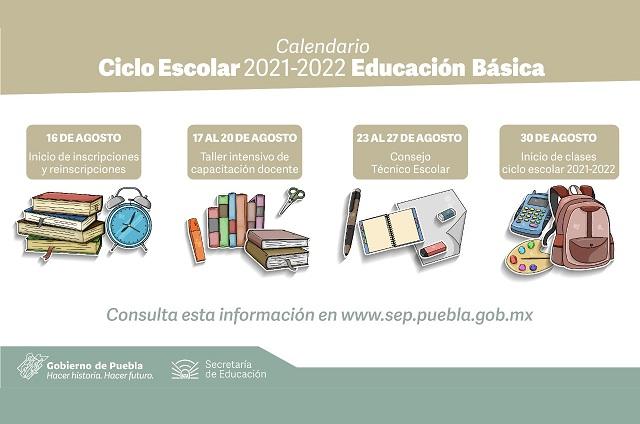 Oficial: comienzan clases el 30 de agosto en Puebla
