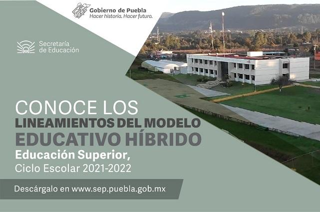 Publica SEP el modelo híbrido para educación superior