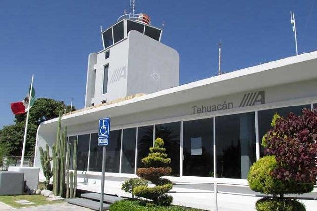 Destaca aeropuerto de Tehuacán por actividad en Compranet