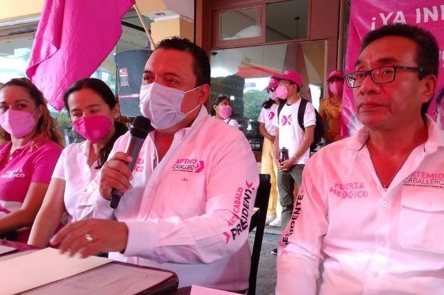Artemio Caballero apelará la revocación de su candidatura