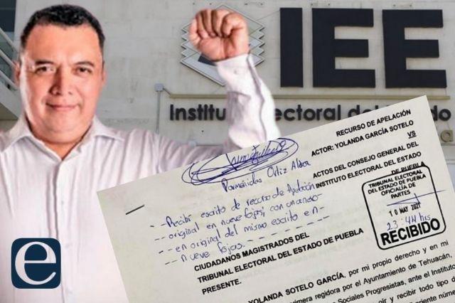 Impugnan candidatura de Artemio Caballero por inconstitucional