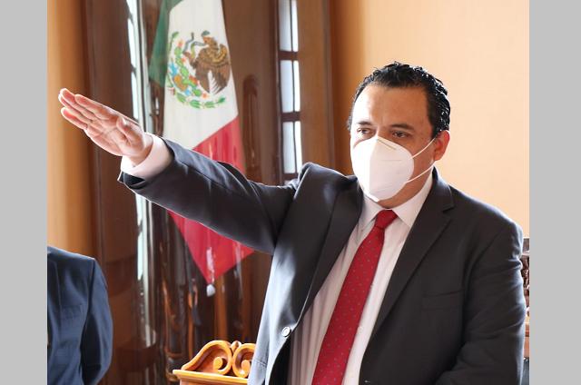 Protesta Artemio Caballero López como alcalde de Tehuacán