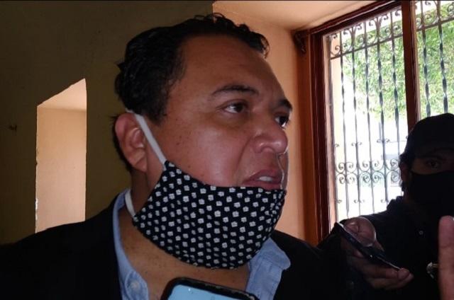 Degustación del Mole de caderas no fue fiesta: Caballero López