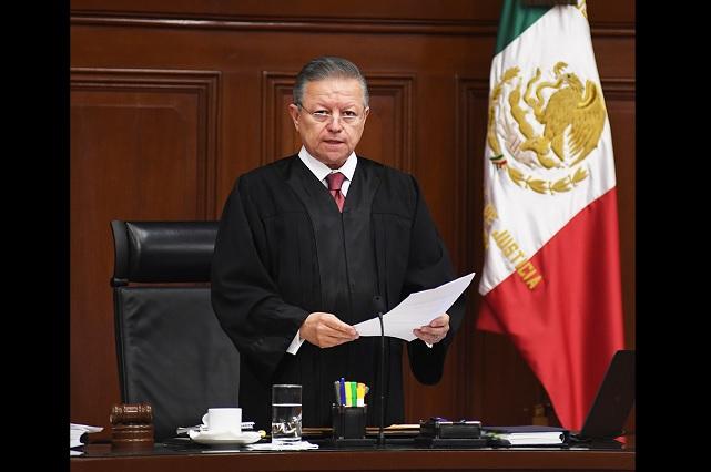 Presidente de la Corte revela que Felipe Calderón lo presionó