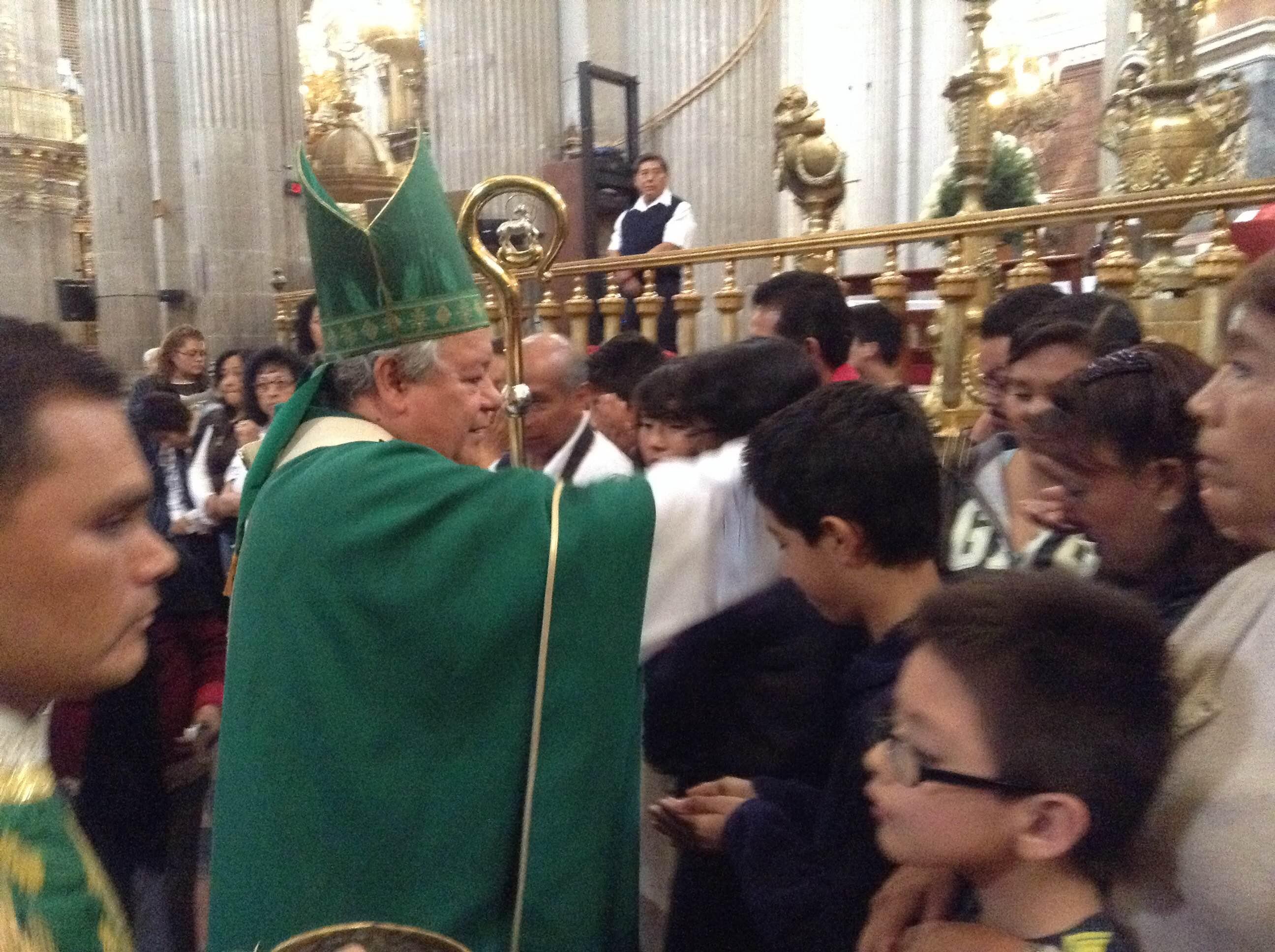 Pide arzobispo reparto de riqueza más  equitativo y solidaridad con los pobres