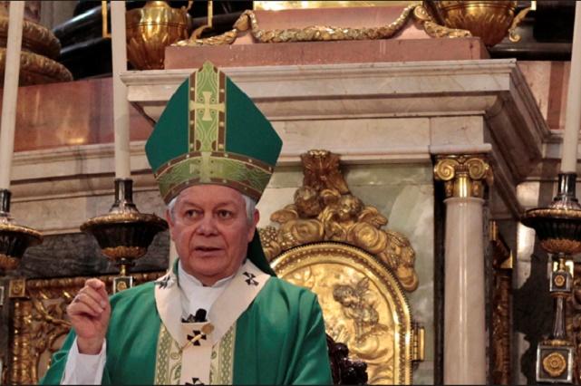 Pide arzobispo Víctor Sánchez evitar la violencia postelectoral