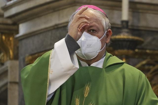 Arzobispo encabeza oración por salud y mejora económica