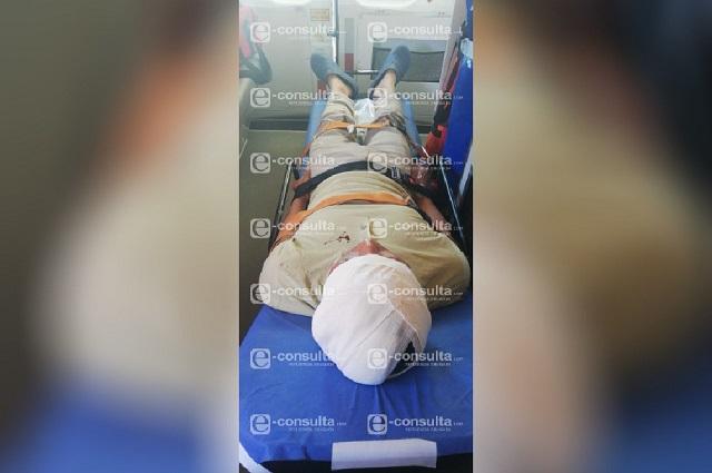 Pelean reos del Cereso de Cholula; hay dos heridos