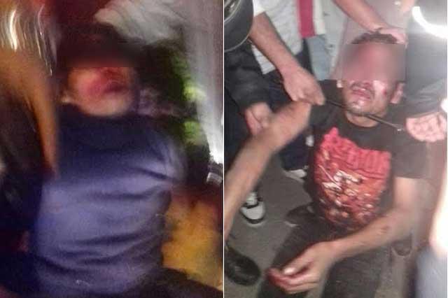 Capturan y golpean a asaltantes de taxista de la CAPU