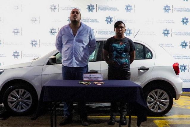 Detienen a 2 probables asaltantes de cuentahabiente en La Libertad