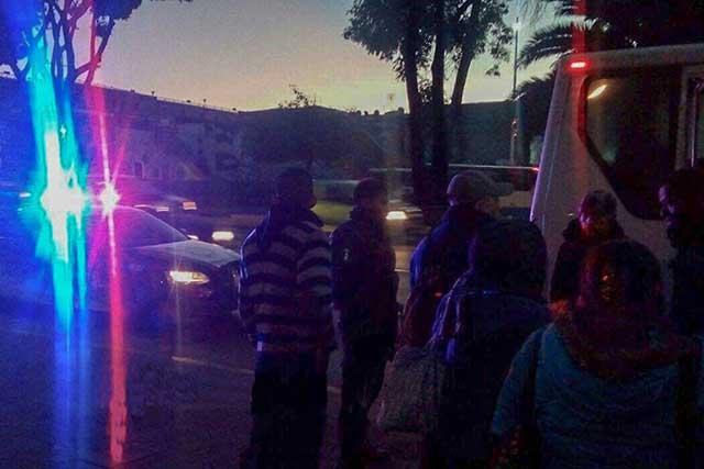 Balean a dos pasajeros de la ruta 18 en intento de asalto en Puebla
