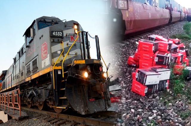 Asaltan un tren a diario en Puebla; van 276 sólo este año