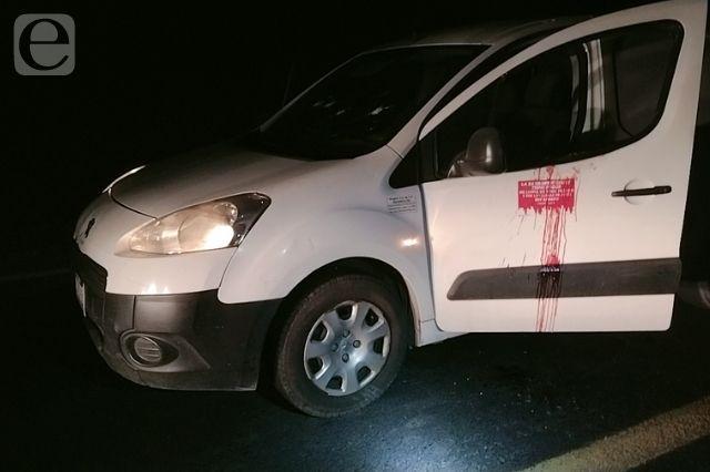 Asaltan a familia en carretera de Azumbilla, hieren al conductor