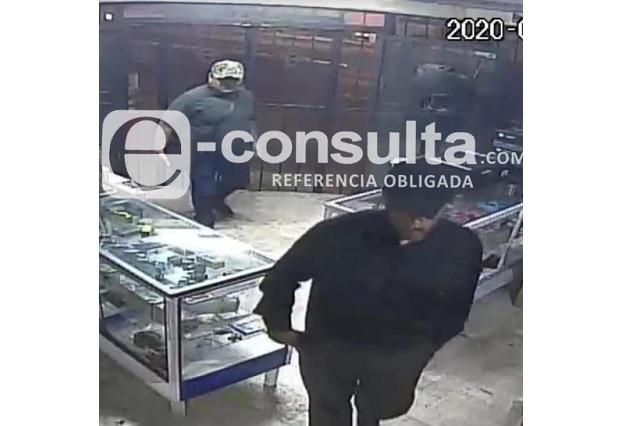 Captan en video asalto a comercio en Chulavista