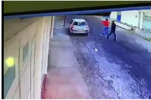 Video capta a asaltantes que balearon a pareja en Bugambilias