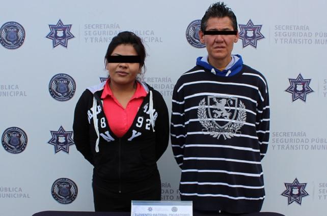 Aseguran a dos por asaltar a taxista en la Ignacio Mariscal