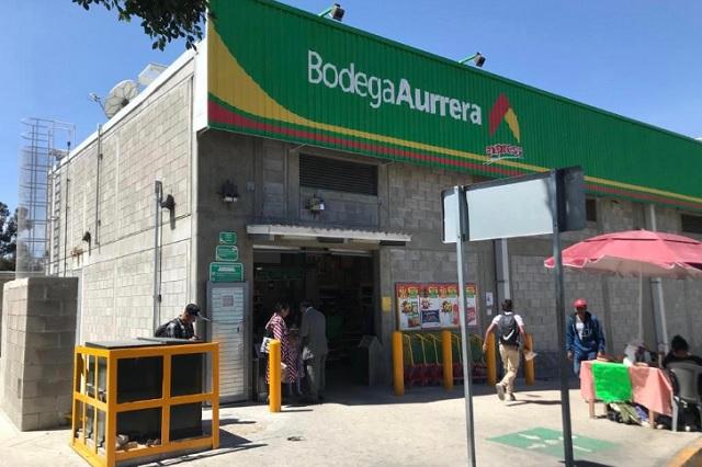 Par de sujetos asalta Bodega Aurrerá Exprés de Zaragoza