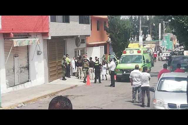 Asalto en clínica de Ecatepec deja saldo de un ladrón muerto y una niña herida