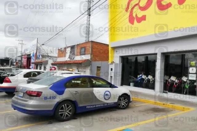 Luego del Sam's, asaltan tienda Elektra en Castillotla
