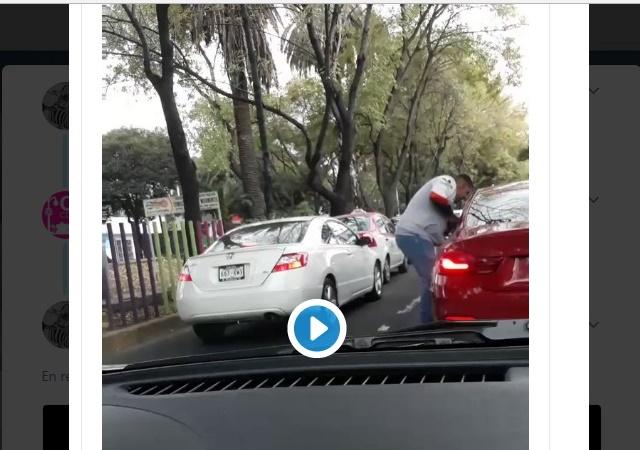 Captan asalto a automovilista en Coyoacán