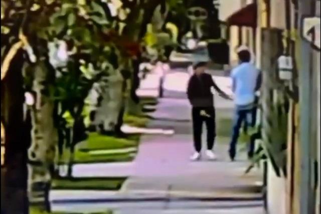 Graban a ciudadano que se resiste a asalto y hace huir a un ladrón
