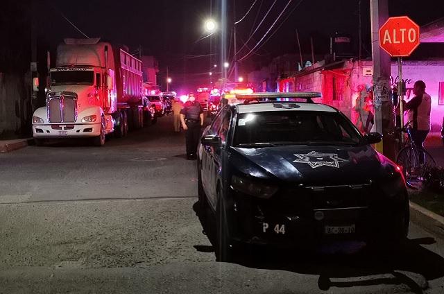 Incendio vivienda deja 6 quemados en Puebla