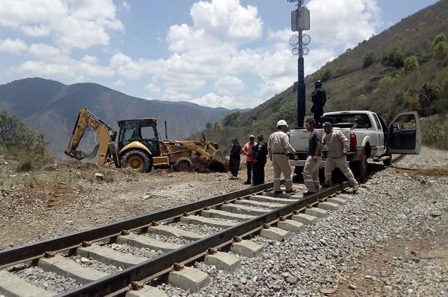 Caen asaltos a trenes pero ahora Puebla es primero en robo de vías