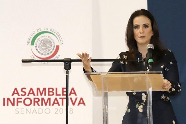 Nancy de la Sierra defiende arribo de Manzanilla a SGG