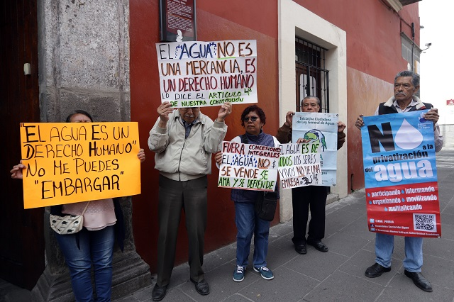 Aumentos en tarifas de agua en Puebla, ilegales: tribunal