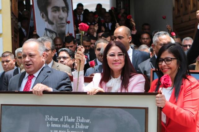 La Asamblea Constituyente despide a la fiscal de Venezuela
