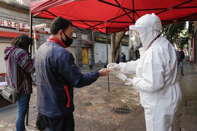 Reporta Salud ascenso de casos positivos por Covid en Puebla