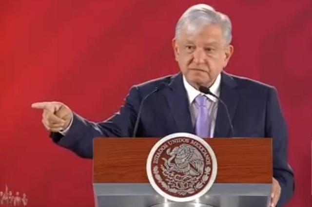 Se disculpa AMLO por haber vinculado a Del Mazo González con NAIM