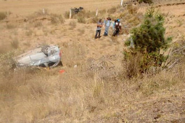 Muere edil auxiliar de Zacatlán tras accidente en Apizaco