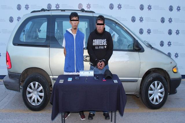 Capturan a dos ladrones de tienda Coppel del Centro Histórico