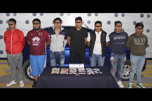 Desarticulan banda dedicada al robo de negocios en Puebla