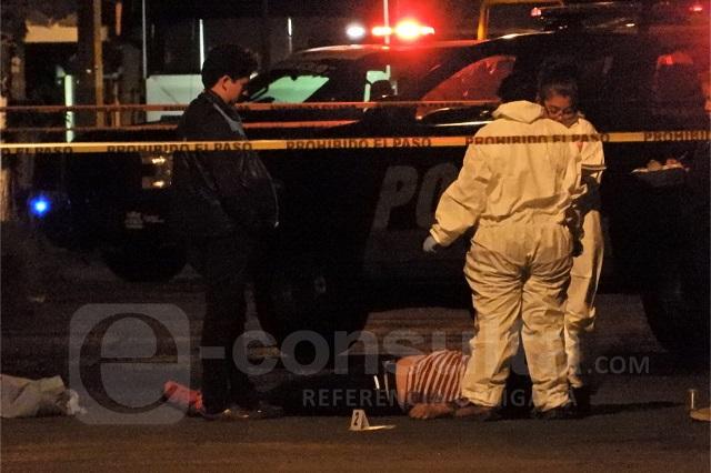 Asesinan a balazos a un hombre en la colonia Héroes de Puebla