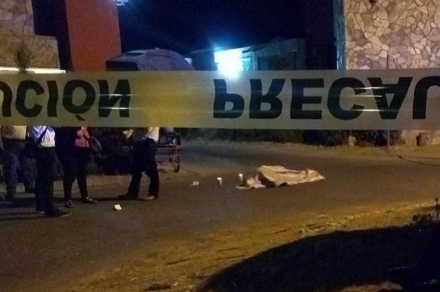 Asesinan a precandidato de Morena a edil por Ocoyucan