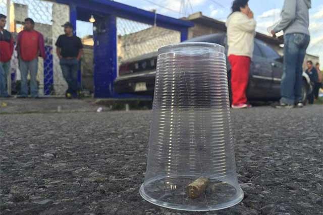 En tres ataques distintos, asesinan a 4 personas en Ecatepec