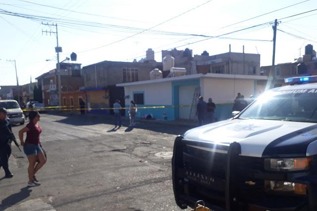 Balean a pintor y lesionan a mujer en colonia Altavista de Atlixco