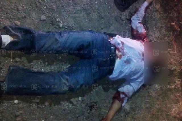 Asesinan a escolta del edil de Ocoyucan y lo abandonan en la 11 Sur