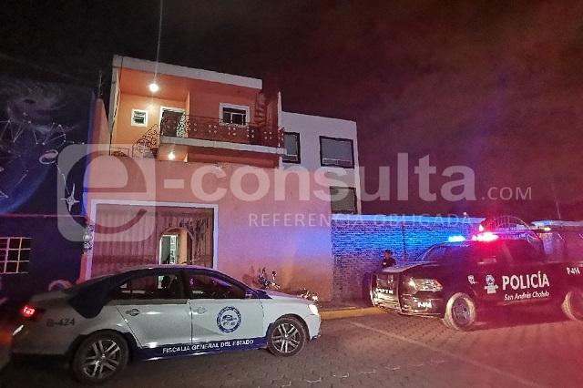 Asesinan a pareja de Veracruz en casa de San Andrés Cholula
