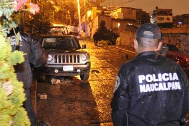Asesinan en Naucalpan a una mujer y le roban su vehículo Audi