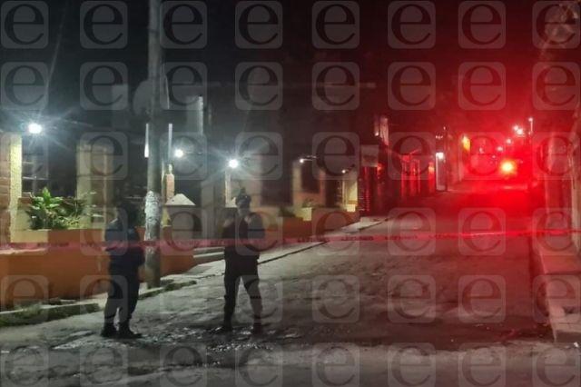 De tres disparos lo asesinan en Chignautla