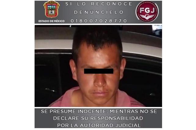 Capturan en Puebla al sujeto que asesinó a Camila en Valle de Chalco