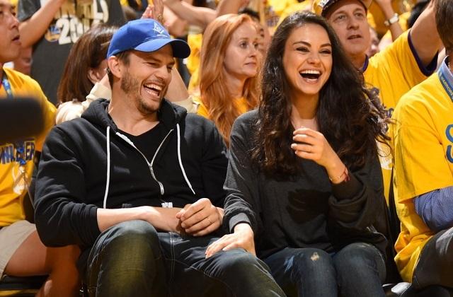 Ashton Kutcher y Mila Kunis se burlan de supuesta crisis matrimonial