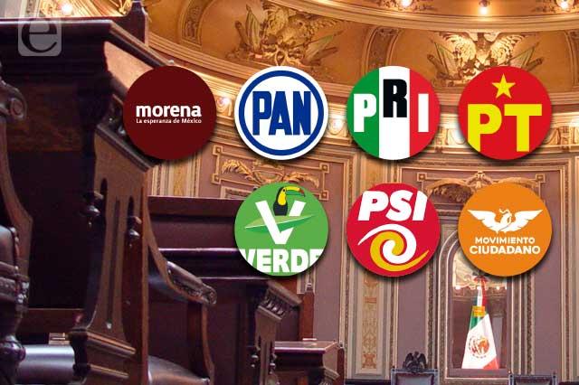 Así queda nueva legislatura de Puebla tras ajuste de curules