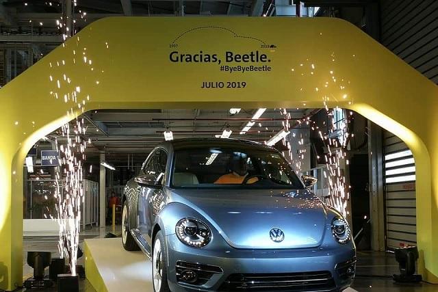Así despidieron al último Beetle fabricado en Puebla