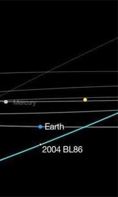 El asteroide 2004 BL86 pasará cerca de la Tierra el próximo lunes: NASA
