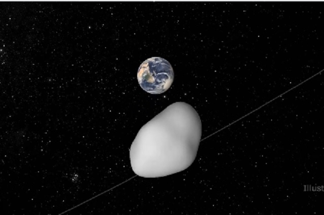 Este 1 de junio un asteroide pasará cerca de la Tierra