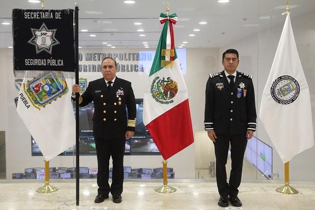 Asume gobierno de Barbosa Huerta la seguridad de Puebla